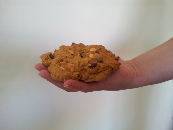 Giant Palm-Sized Chewy Cookies
